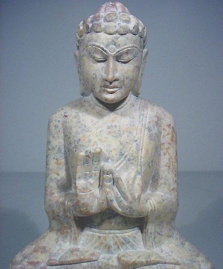 stone buddha teaching Buddha statue handcarved marble