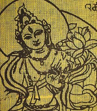tibetan prayer flags goddess tara traditional lung ta tibet prayer