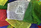 Tibetan Prayer Flags - Tara, Windhorse, Buddha, Guru Rinpoche, Padmasambhava, vertical flags, Vertical, dar cho, Chempsum, traditional rolls